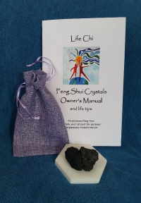 Life Chi Feng Shui Crystals with Owner's Manual